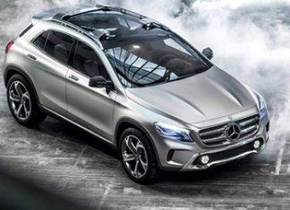 GLA concept SUV.