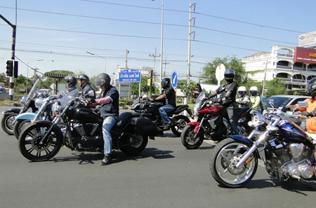 The Bikers are on their way.