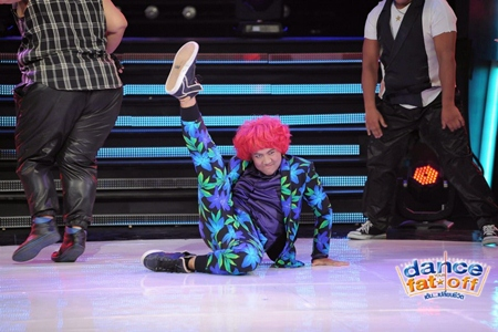Nong Boss gave an impressive performance for Dance Your Fat Off.