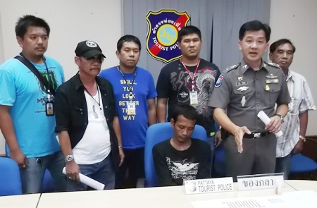 Police have caught up with Nattapong Noilamai and arrested him for supplying ya ba to tour boat operators.