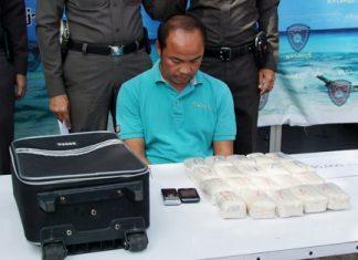 Piya Sangkhla has been arrested for trafficking drugs.