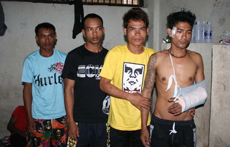 More suspects have been arrested in connection with a gang killing last month in Naklua.