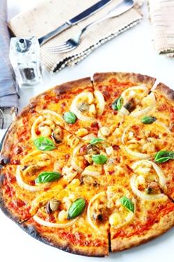 Pizza Frutti Di Mare.