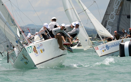 The 2013 Top of the Gulf Regatta, sailed out of Ocean Marina in Jomtien from May 4-7 was another huge success with the large fleet enjoying superb sailing conditions throughout the 4 days of competition.