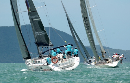 Perfect sailing conditions greeted the sailors at this year's Regatta.