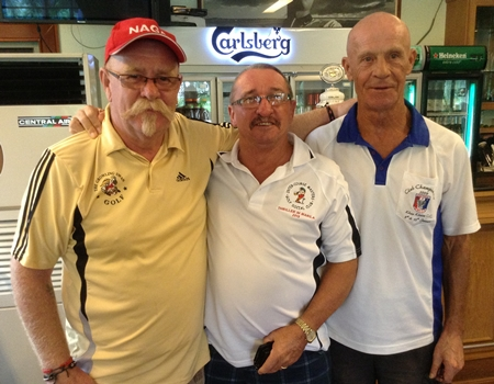Peter Grey, Fred Dineley & Alain Taddei.