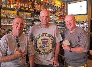 Bobby Ninneman, Mike Newbert and Robert Hunt.