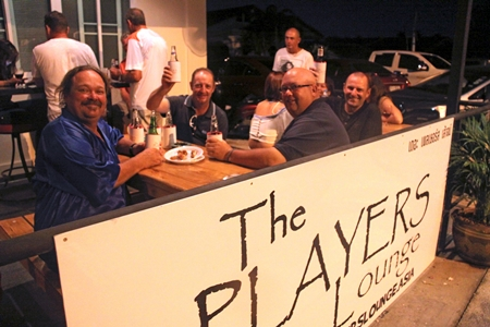 Good Luck to our mates on the 'Darkside' with The Players Lounge.
