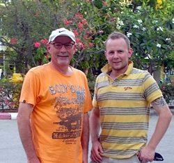 Sharpshooters Bob and Jon Poole.