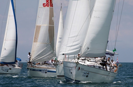 The Top of the Gulf Regatta sets sail from May 3-7 at Ocean Marina Yacht Club, Na-jomtien. (Photo/Infinity Communications)
