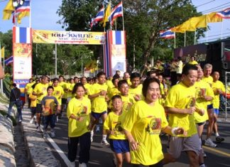 Time to lace up the jogging shoes for 2 walk-run events taking place in Pattaya this month.