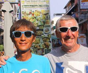 Ken Aihara & Henry O'Brien.