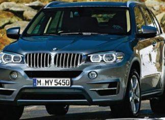 New BMW X5.