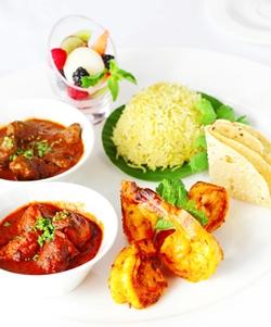 Indian set menus at Oasis Restaurant.