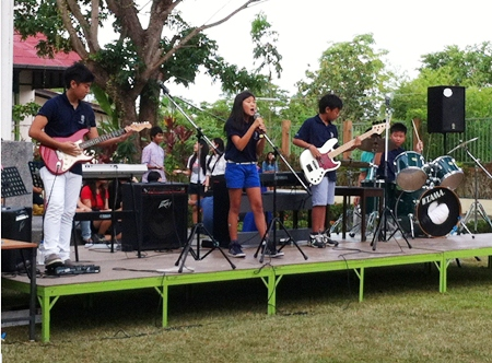 The Secondary Junior Rock Band.
