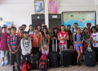The Year 6 GIS students had a great time in Chiang Mai.