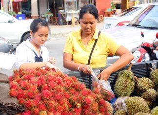 Children like school rambutan because of its sweetness.