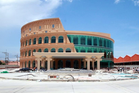 The Colosseum Show Pattaya is set to open in July.