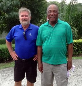 Geoff Bracegirdle & Ed Wyckoff.
