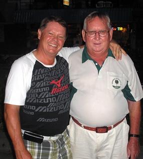 Kari Kuparinen & Burnie Sinclair.