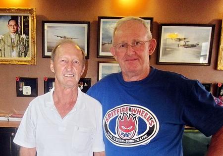 Max Scott & Daryl Evans.