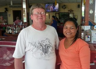 Wayne Cotterell with wife Eng.