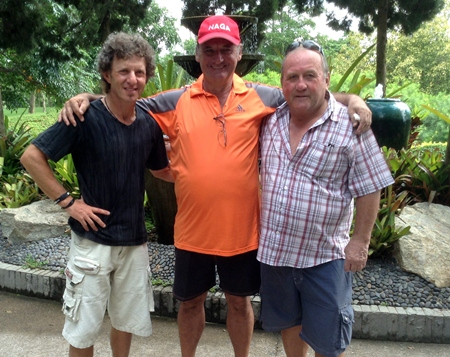 Sal Brizzi, Sandy Leiper & Geri Crilly.