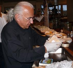 Master cheese maker Gerard Poulard.