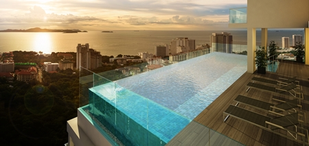 Southpoint Pattaya's promise of quality is bolstered by a blue chip location at Pratumnak Hill.