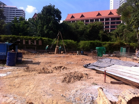 Construction has started on Nova Group's Serenity condominium in Wong Amat.