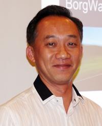 Dr. Chaiyant Savanachai from BorgWarner Thailand.