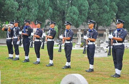 Guard of Honour at Gods Little Acre.