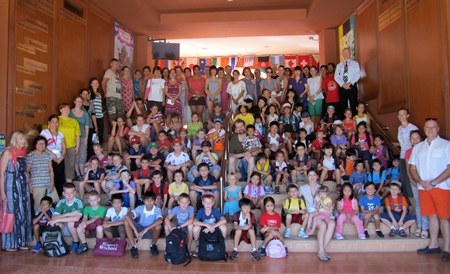 Almost 90 children are taking part in the Summer Camp at The Regent's School Pattaya.