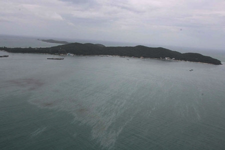 As dawn broke on July 29, officials realized there was nothing they could do to stop the oil from reaching Koh Samet.