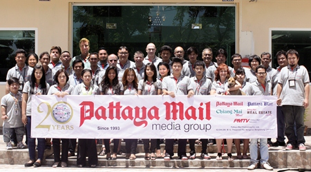 July 23, 2013 will be the 20th anniversary of the day first Pattaya Mail, Vol. I No. 1, hit the newsstands. By all accounts, it is just shy of a miracle that we made it this far. The fact that we did is in no small part due to you the reader, you the advertiser, and you the contributor. It is with heartfelt thanks that we salute you and hope we may continue to live up to your expectations for the years to come. On Tuesday, July 23, we will release a 20 page supplement marking some of the highlights of those 20 years. We do hope you will enjoy reading it as much as we did researching and publishing it.