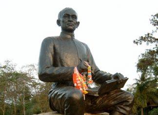 Sunthorn Phu, Thailand's most-heralded poet.