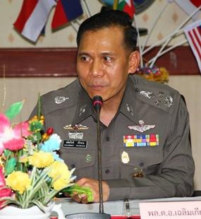 Royal Thai Police deputy commander Gen. Chalermkiat Sriwornkhan.