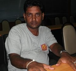Sri Lankan Sunil Adayakumara Aththalage Don has been charged with fraud, intimidation, theft of the victims passport and 3 month overstay.