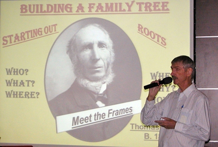 Speaker for Pattaya City Expats Club for June 23rd was amateur genealogist Ian Frame. Ian has studied his family's history & its travels across many continents. He shared many interesting facts he discovered incidentally, such as the fact that Charlie Chaplin spent some time in a poor house, as a seven year old.
