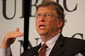 Bill Gates and Rotary are on a mission to end world polio.