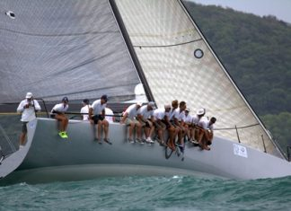 Oi! on her way to seven wins from eight races, and winner of IRC Racing I.