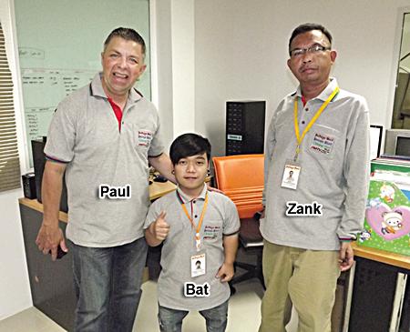 The Pattaya Mail on TV team.