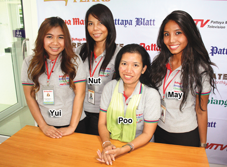 Our ever so charming Sales and Marketing team.