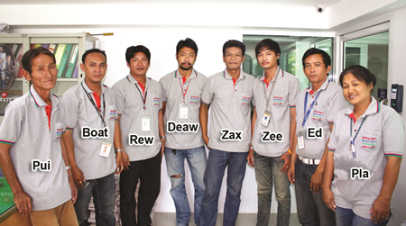 Our hard working distribution and office support staff.