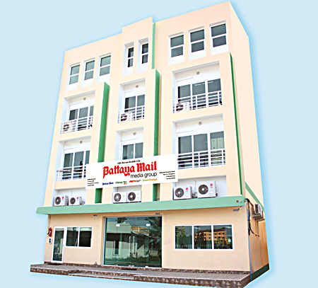 Our new offices on Thepprasit Road.