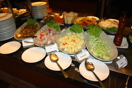 A great selection of South American delicacies were prepared by the Brazilian chefs.