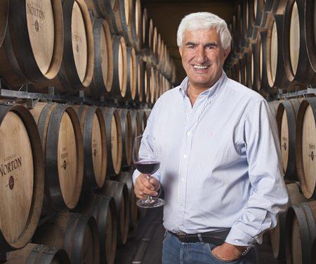 """Wine Maker of the Year 2012"", Jorge Riccitelli."