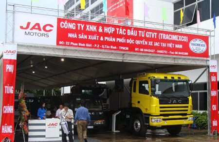 The auto industry in Vietnam is still very young, having begun around 20 years ago with government investment.