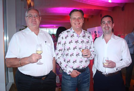 (L to R) Andrew McDowell, MD, Suretank (Thailand) Co., Ltd., Simon Matthews, Country Manager Thailand, Manpower Group and Richard Stepney, Associate Director, RSM Recruitment (Thailand) Limited.