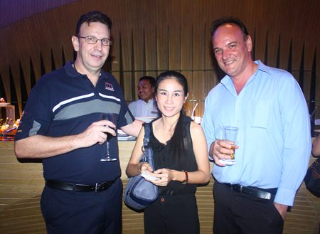 (L to R) Trevor Roper, Engineering Manager, Off Road Accessories Limited, Vassachol Khrueasan, Senior Sales Manager, Holiday Inn and Scott Lyons, Manufacturing Manager, Off Road Accessories Limited.